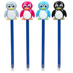 Novelty Pens with Moving Parts - Penguin - Assorted