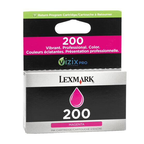 Lexmark 200 Return Program Ink Cartridge - Magenta - 14L0648