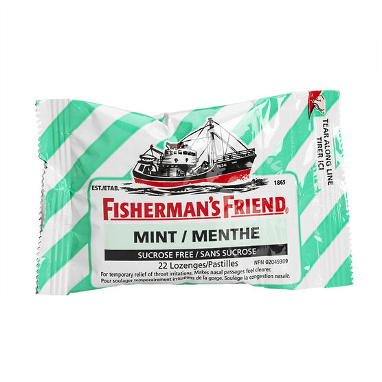 Fisherman's Friend - Sugar Free Fresh Mint - 22's