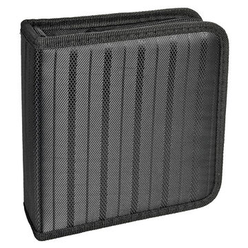Certified Data 40 CD Wallet - Black - CD-40B