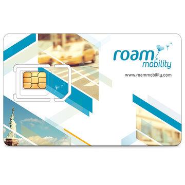 Roam Mobility 4G LTE USA Travel Sim Card - 3-in-1