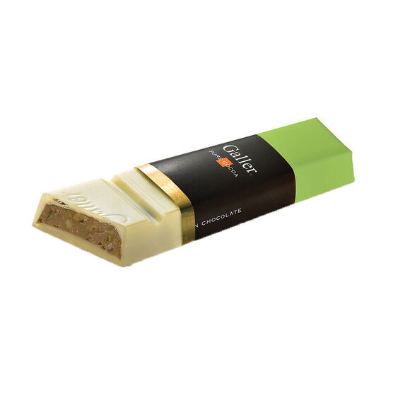 Galler White Chocolate Pistachio Bar - 65g