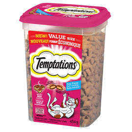 Whiskas Temptations -Beef - 454g