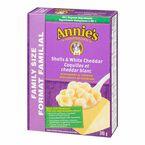 Annie's Shells & White Cheddar - Family Size - 340g