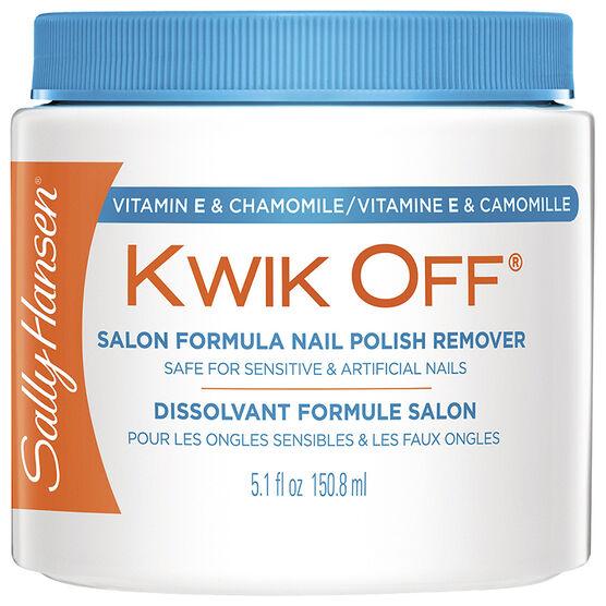 Sally Hansen Kwik Off Salon Formula Nail Polish Remover - 150.8ml