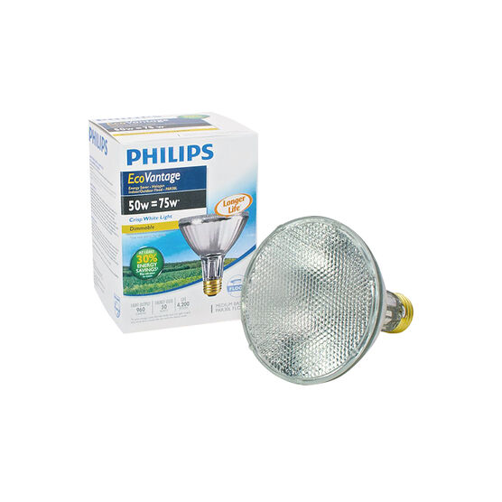 Philips EcoVantage Par30L Light Bulb - Crisp White - 50w/70w