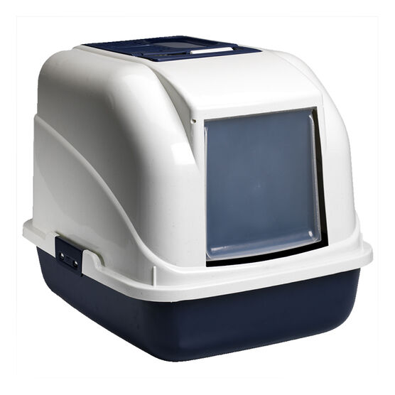 London Drugs Cat Litter Box with Filter - 50 x 40 x 40cm - Assorted Colours