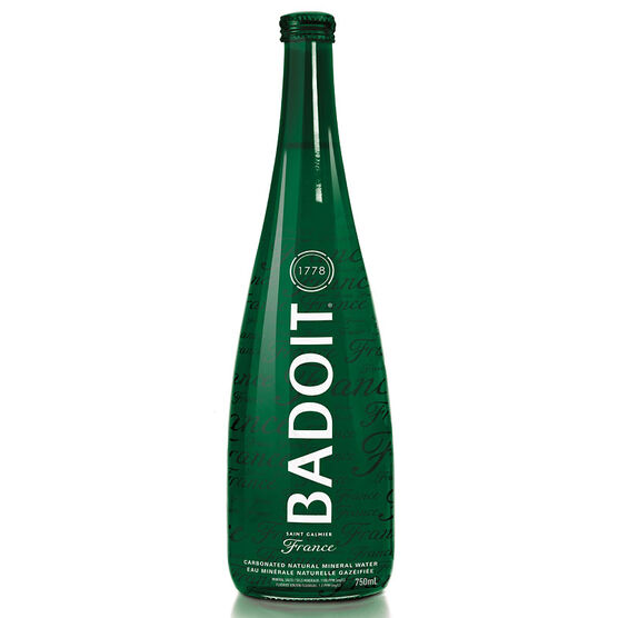 Badoit Carbonated Natural Mineral Water - 750ml