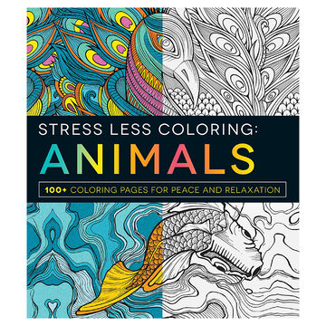 Stress Less Colouring: Animals