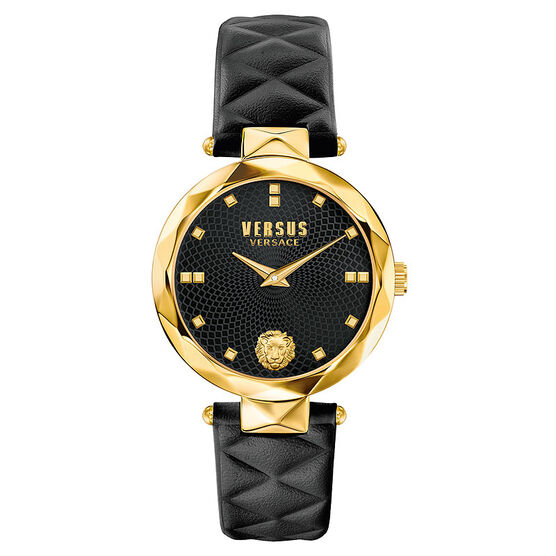 Versace Versus Covent Garden Ladies Watch - Black/Gold - SCD050016