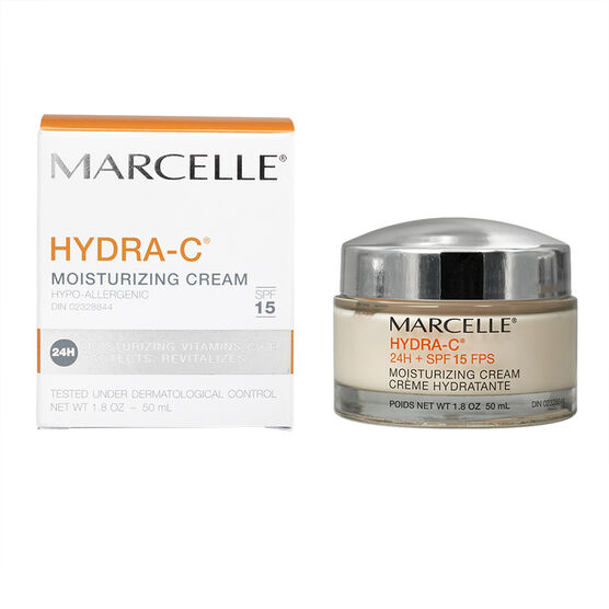 Marcelle Hydra-C 24H + SPF 15 Moisturizing Cream - 50ml