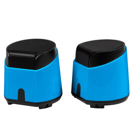 Certified Data Deluxe 2.0 USB-Powered Speakers - Blue - HXM-688