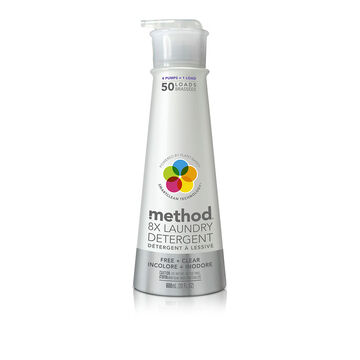 Method Laundry Detergent - Free & Clear - 600ml/50uses
