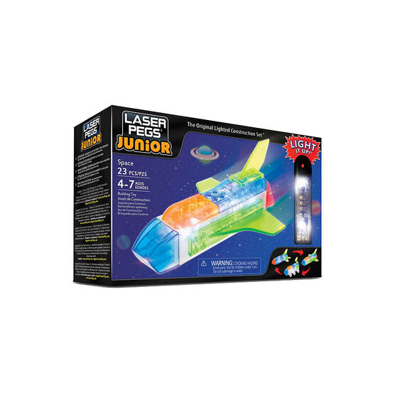 Laser Pegs Juniors 3-in-1 - Space