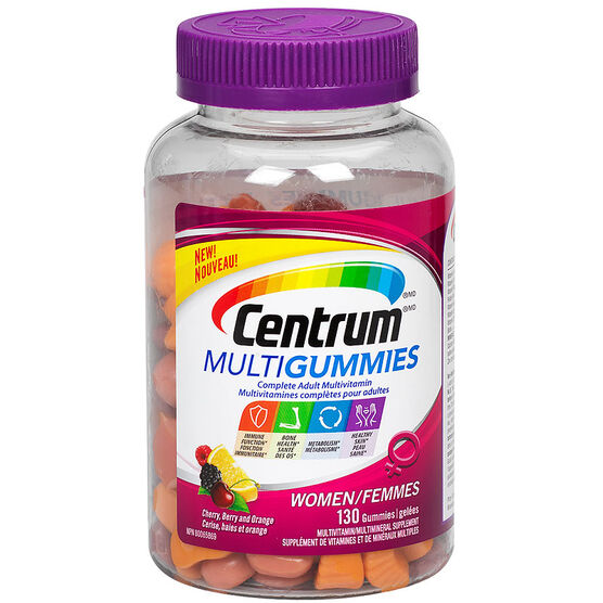 Centrum Multigummies Adult Multivitamin - Women - 130's