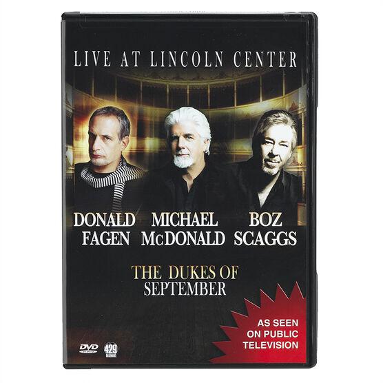 The Dukes of September Live from Lincoln Centre - DVD