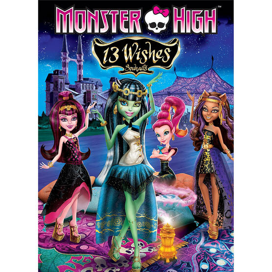 Monster High: 13 Wishes - DVD