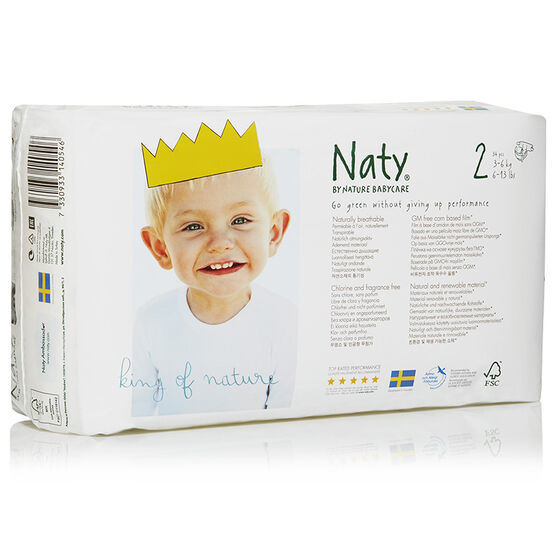 Nature BabyCare Diapers - Size 2 - 34's