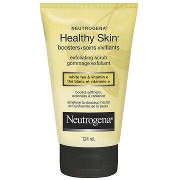 Neutrogena Healthy Skin Booster Exfoliating Scrub - White Tea and Vitamin E - 124ml