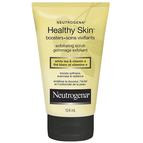 Neutrogena Healthy Skin Booster Exfoliating Scrub - White Tea and Vitamin E - 124ml