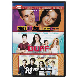 She's All That / The DUFF / Adventureland - DVD