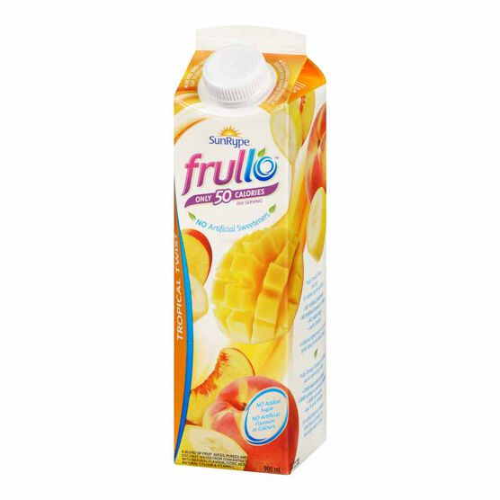 SunRype Frullo Juice - Tropical Twist - 900ml