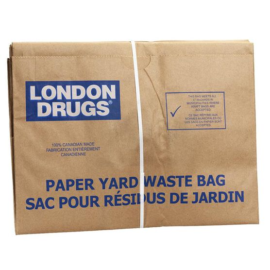 London Drugs Paper Yard Waste Bag - 5's