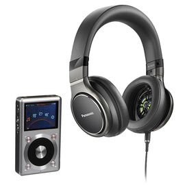 FiiO X3II Audio Player + Panasonic Hi-Res Headphones - PKG #34772