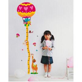 Growth Chart - Animals in Balloon