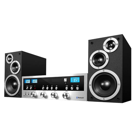 IT Bluetooth CD Stereo System - Silver -  ITCDS5000