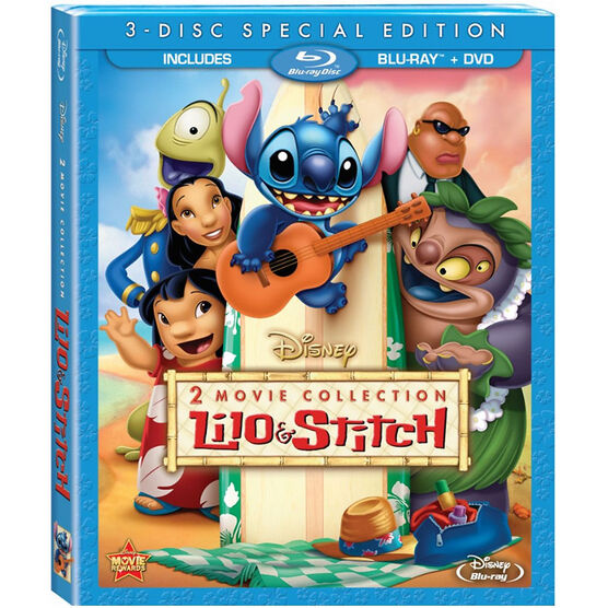 Lilo & Stitch 2 Movie Collection - Blu-ray + DVD