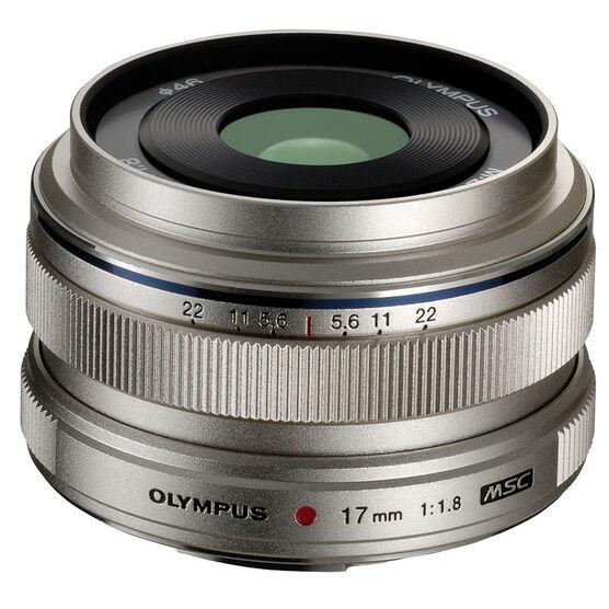 Olympus M.Zuiko 17mm f1.8 - Silver - 311050SU000