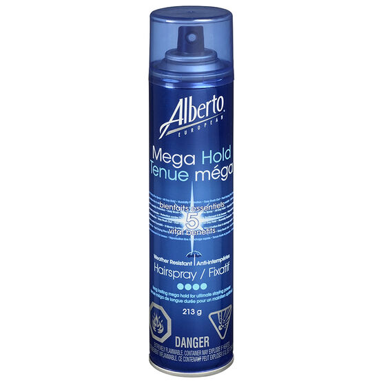 Alberto European Mega Hold Weather Resistant Hairspray - 213g