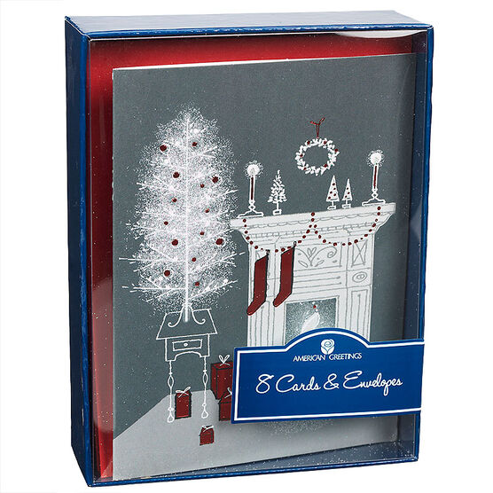 American Greeting Assorted Christmas Cards - Merry & Bright - 8 pack