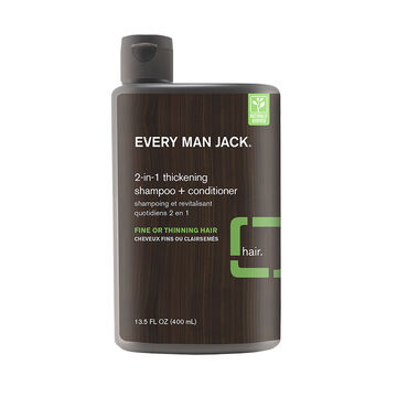 Every Man Jack 2-in-1 Thickening Shampoo + Conditioner - 400ml