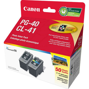 Canon PG-40 & CL-41 Combo Pack - 0615B010