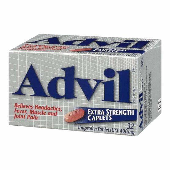 Advil Ibuprofen Extra Strength Caplets - 32's