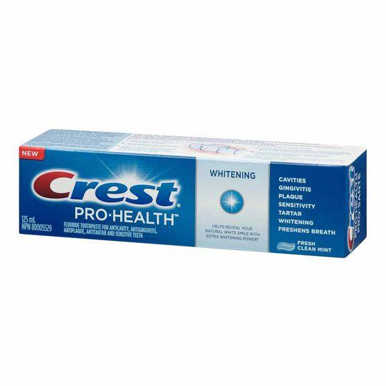 Crest Pro-Health Whitening Toothpaste - Fresh Clean Mint - 125ml