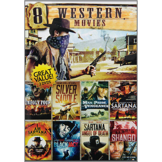8 Movie Western Volume 7 - DVD