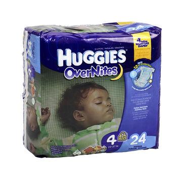 Huggies Overnites Disposable Diaper - Size 4 - 24's