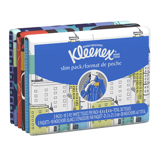 Kleenex Wallet Pack - 3 x 10's