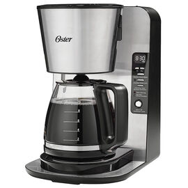 Oster Programmable Coffee Maker - Stainless - BVSTABX39-033