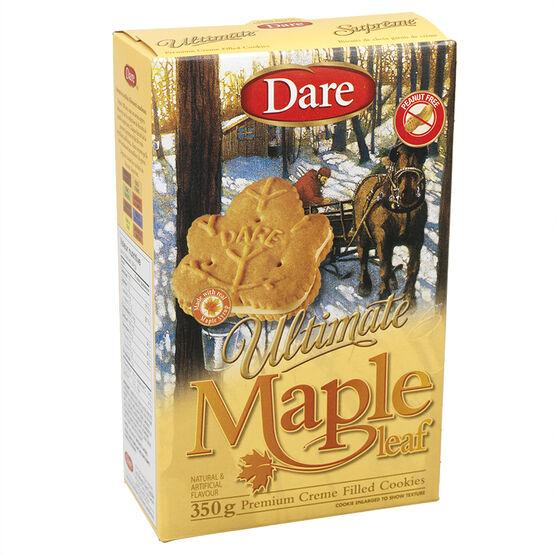 Dare Maple Leaf Cookies - 350g