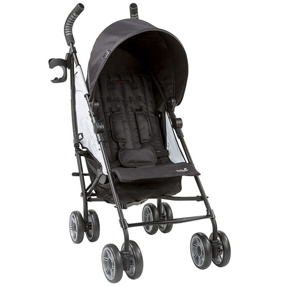Summer 3D Flip Convenience Stroller - Black/Grey - 21853