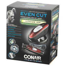 Conair Lithium-Ion Even Cut & Trimmer - HCT7565LIC