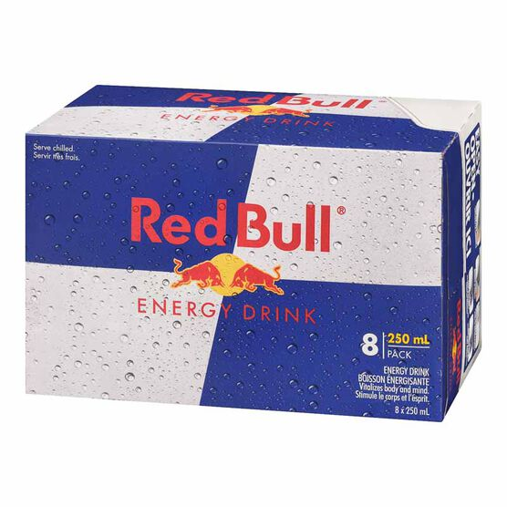 Red Bull Energy Drink - 8 x 250ml