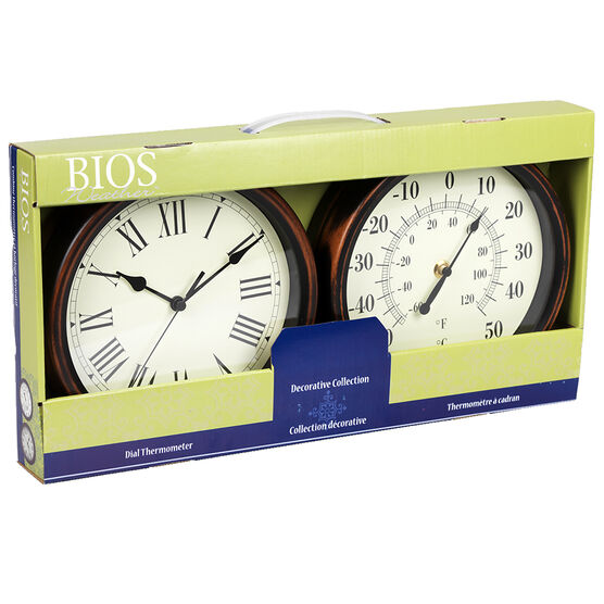 Bios Weather Thermostat Clock Set - 641BC