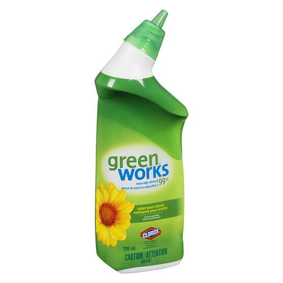 Green works toilet bowl cleaner 709ml london drugs for Greenworks bathroom cleaner