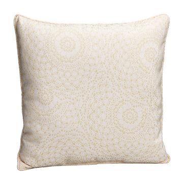 London Drugs Brocade Cushion - Cream