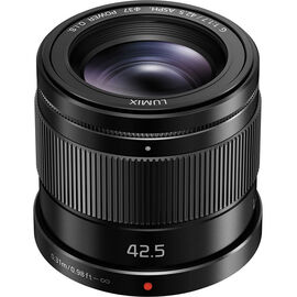Panasonic LUMIX G 42.5mm f/1.7 ASPH Lens - Black - HHS043K